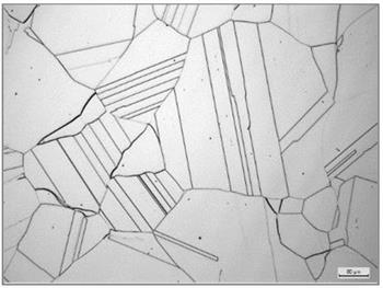 Microstructure - Mill Annealed G-35 Sheet